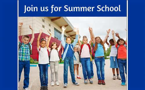 Join us For Summer School