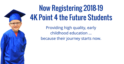 Now Registering 18-19 4K Students