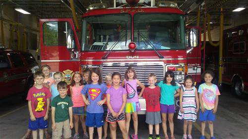 Students Visit SPFD